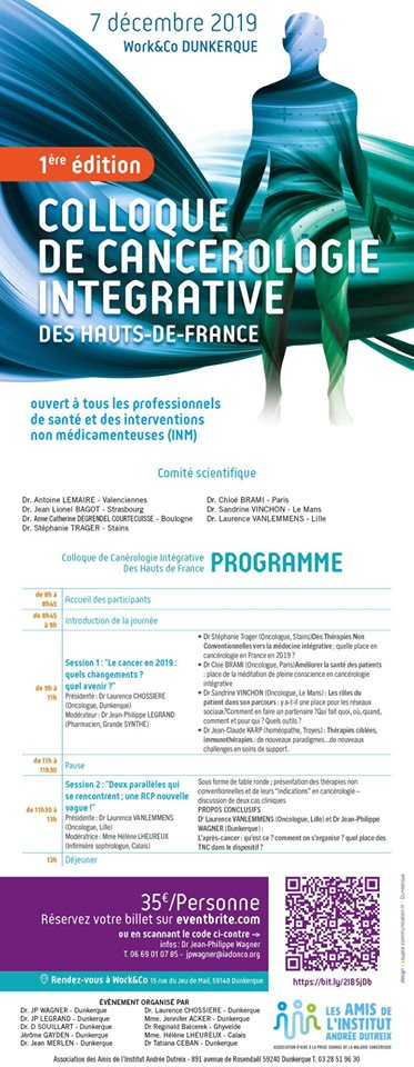 2019-12-07 colloque de cancerologie integrative