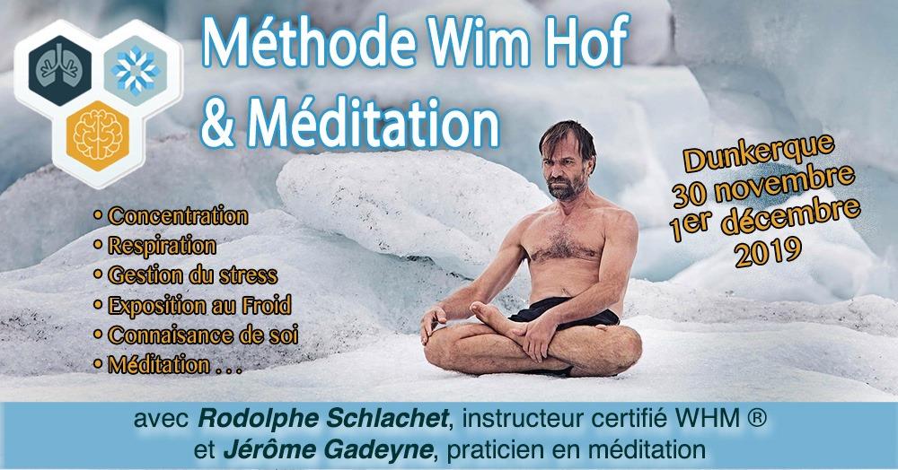 stage Wim Hof et Méditation - 2019
