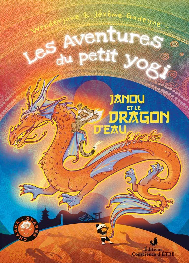 tome-3-les_aventures_du_petit_yogi_janou_dragon_eau_chakra_orange_yoga_chakra_jerome_gadeyne_wonderjane-couv